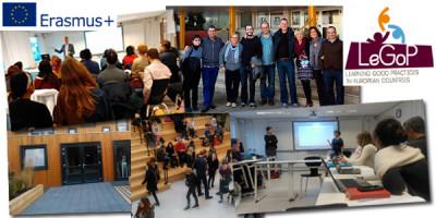 Reunión internacional del proyecto LeGoP en Amsterdam