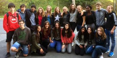 Visita de alumnos ingleses de intercambio