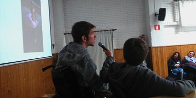 Apoyo Dravet y Telmo Irureta con nuestros alumnos