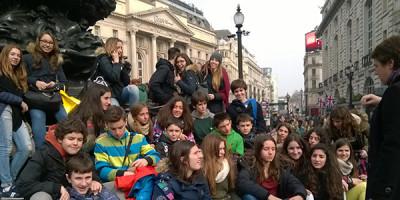 Nuestros alumnos de intercambio en Londres