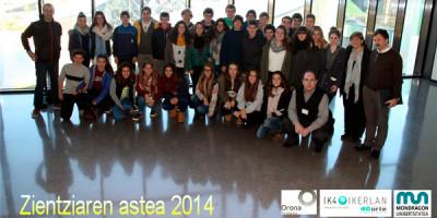 Nuestros alumnos en Orona Fundazioa