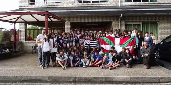 Intercambio con alumnos bretones