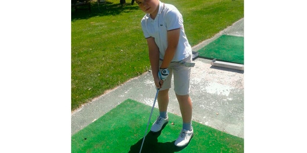 Markel Olasagasti Espainiako Golf txapelketan