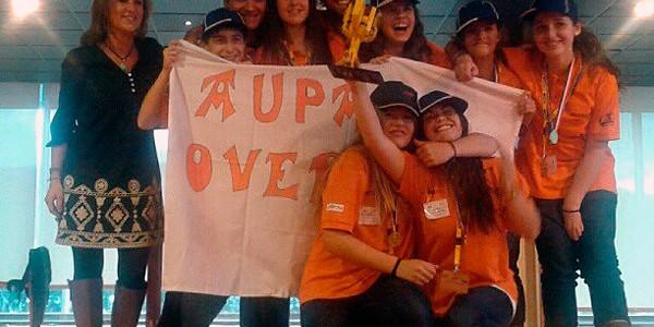 Overclock Axular FLLko Euskadiko finalean