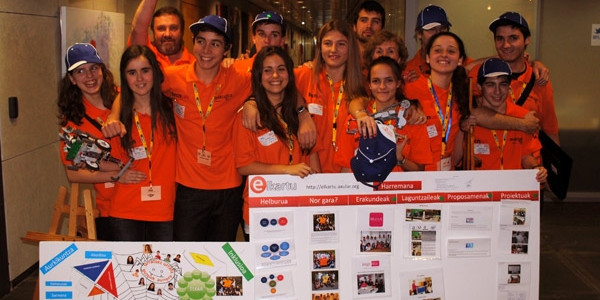 Overclock Axular Euskadiko FLLko finalean