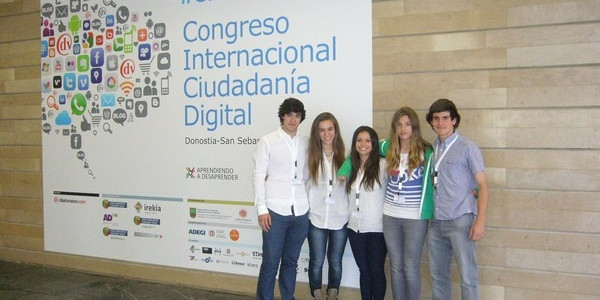 Gure ikasleak Hiritartasun Digitalaren Kongresuan