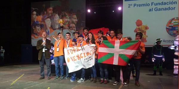 Overclock-ek 2. saria lortu du Espainiako FLLko finalean
