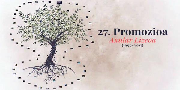 27. promozioaren agurra