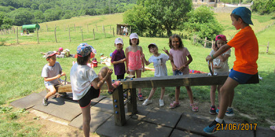 Los niños de 2º de Primaria en Astitz
