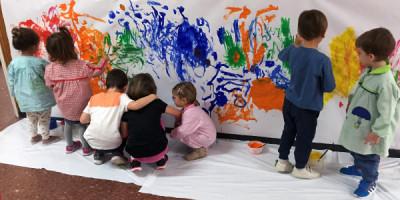 Pintando todos juntos