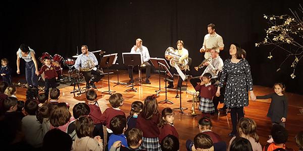 Txikiak Euskadiko Orkestra-sinfonikoarekin