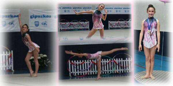 Paula Sagaseta gimnasian txapelduna
