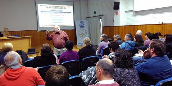 En la imagen un momento de la conferencia