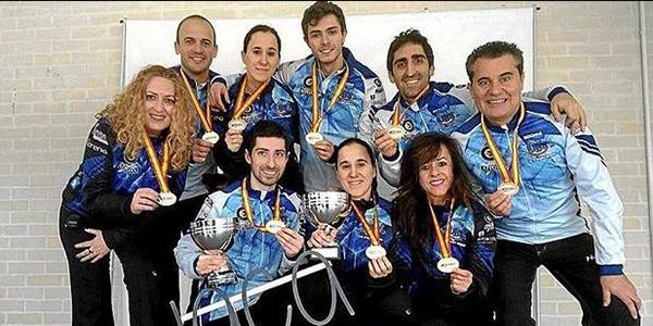 Axun Manterola Espainiako curling-txapelduna