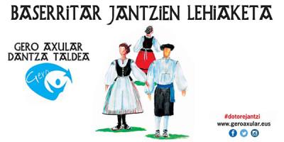 I. Concurso de trajes de baserritarra