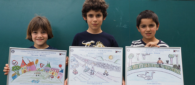 Fotografía de los alumnos premiados