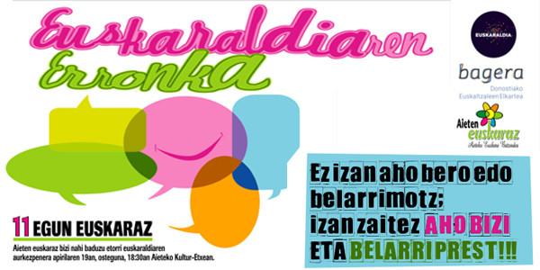 Presentación de Euskaraldia