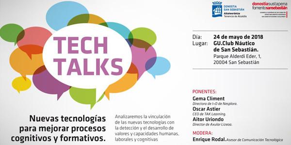 Tech Talks mahai-ingurua