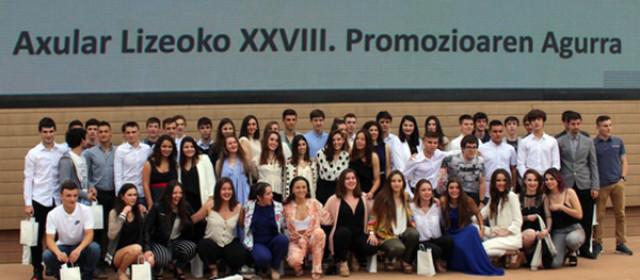 Alumnado de la 28ª promoción