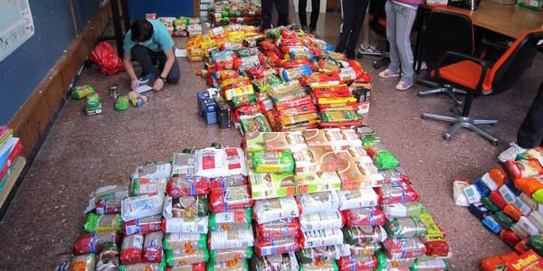 Éxito en la campaña de recogida de alimentos