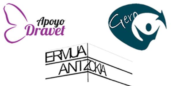 Apoyo Dravet eta Gero Axular taldeen logotipoak