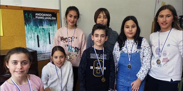 Premiados en el Piano Jaialdia de Andoain