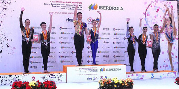 Unai Arrietak lehen postua Espainiako gimnasia erritmikoko txapelketan
