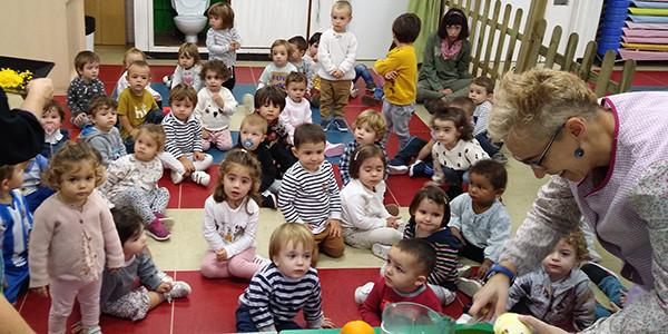 Actividades en el aula de 2 años