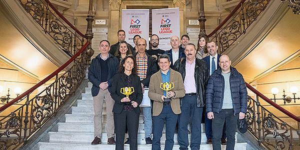 La First Lego League en Donostia