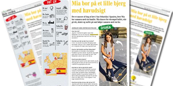 Børneavisen aldizkari daniarrak Mia Sancho elkarrizketatu du