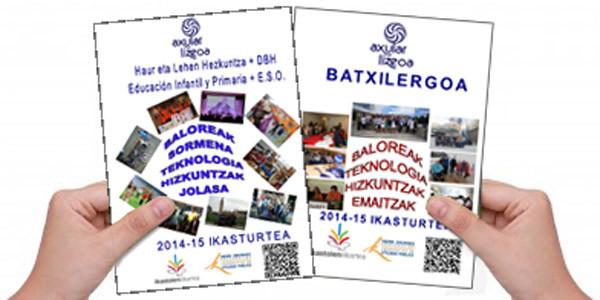2014-15 ikasturteko informazio eguneratua