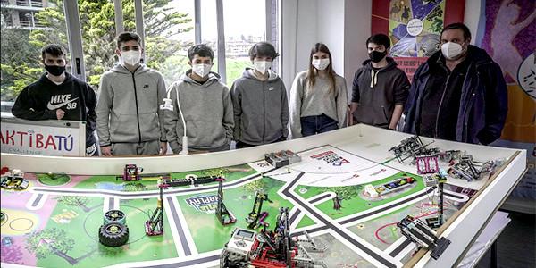 Euskadiko First Lego League maiatzaren 8an