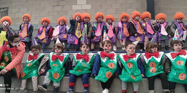 Carnavales en Educación Infantil