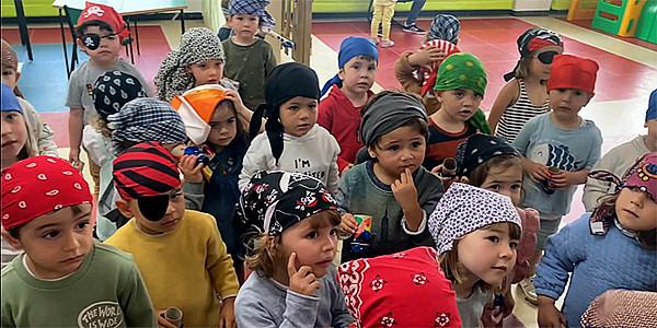 Piratas de dos años