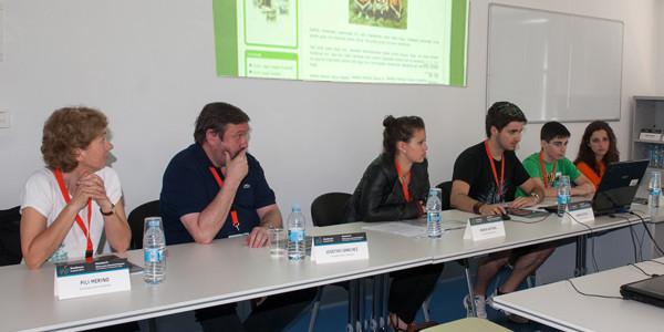 Gure ikasleek MoodleMoot Euskadi kongresuan ponentzia aurkeztu dute