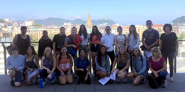 Nos visitan alumnos de San Diego